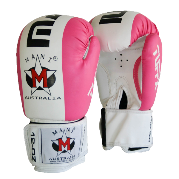 12 oz Boxing Gloves Pink