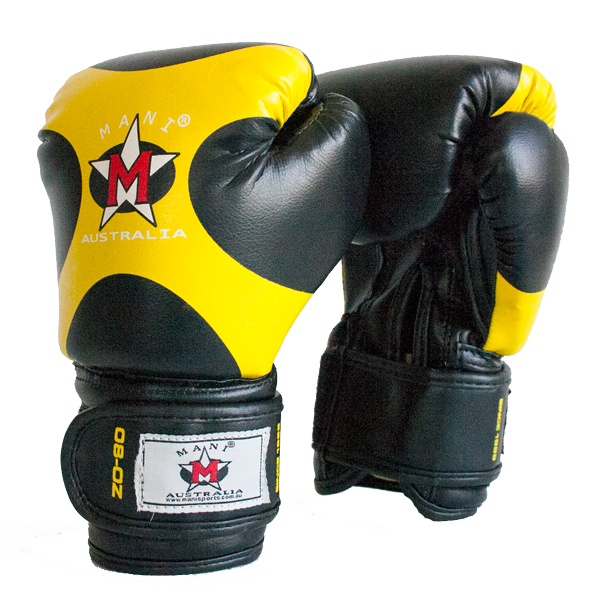 Kids Boxing Gloves yellow