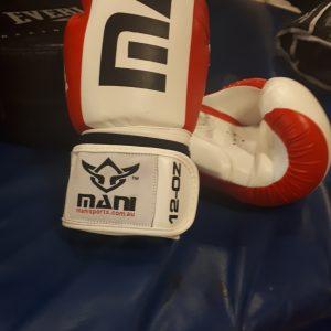 Mani 12oz Tuffx Boxing Gloves
