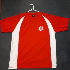 Tshirts Red Front